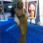 CES 2013 Booth Babes - Maralyn Monroe